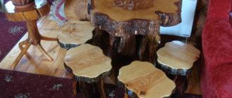 Столик деревянный своими руками фото