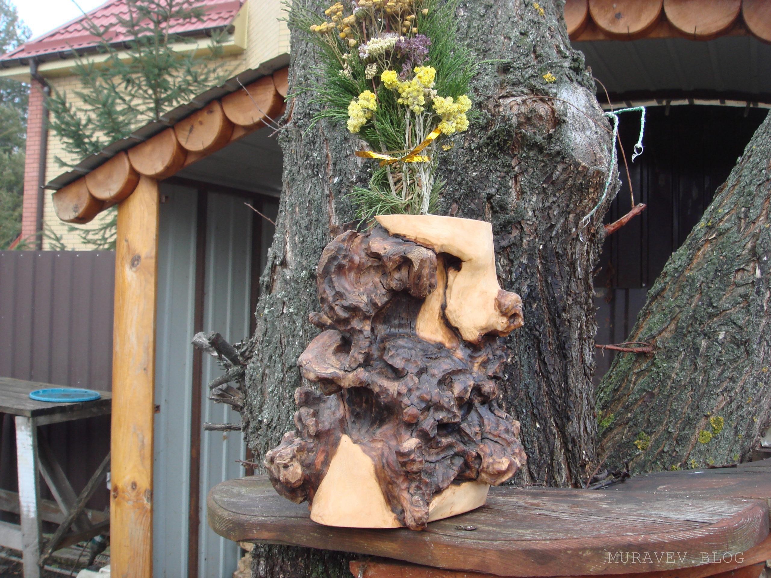 Подставка деревянная из дерева