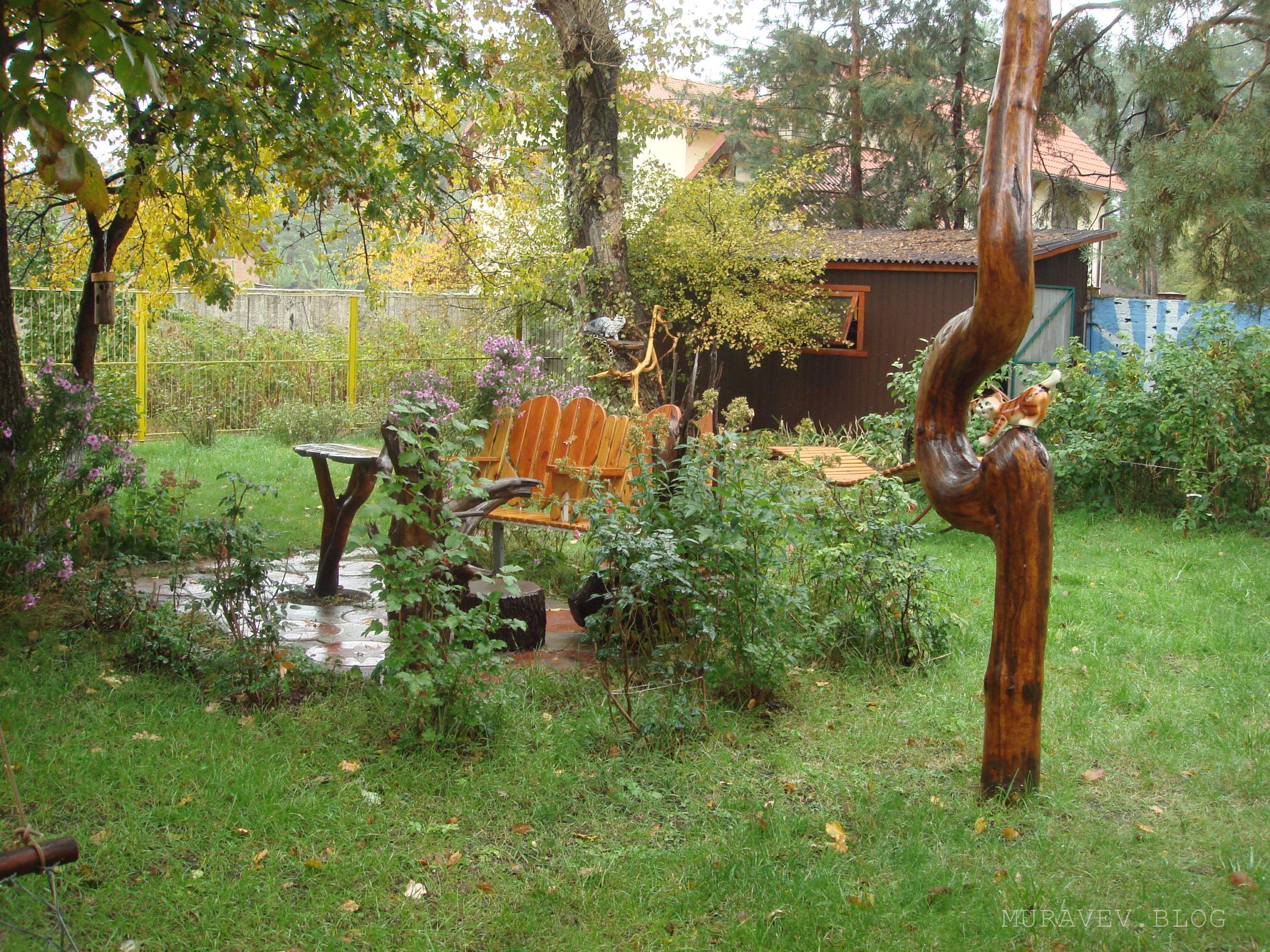 как сделать простую садовую скамейку своими руками