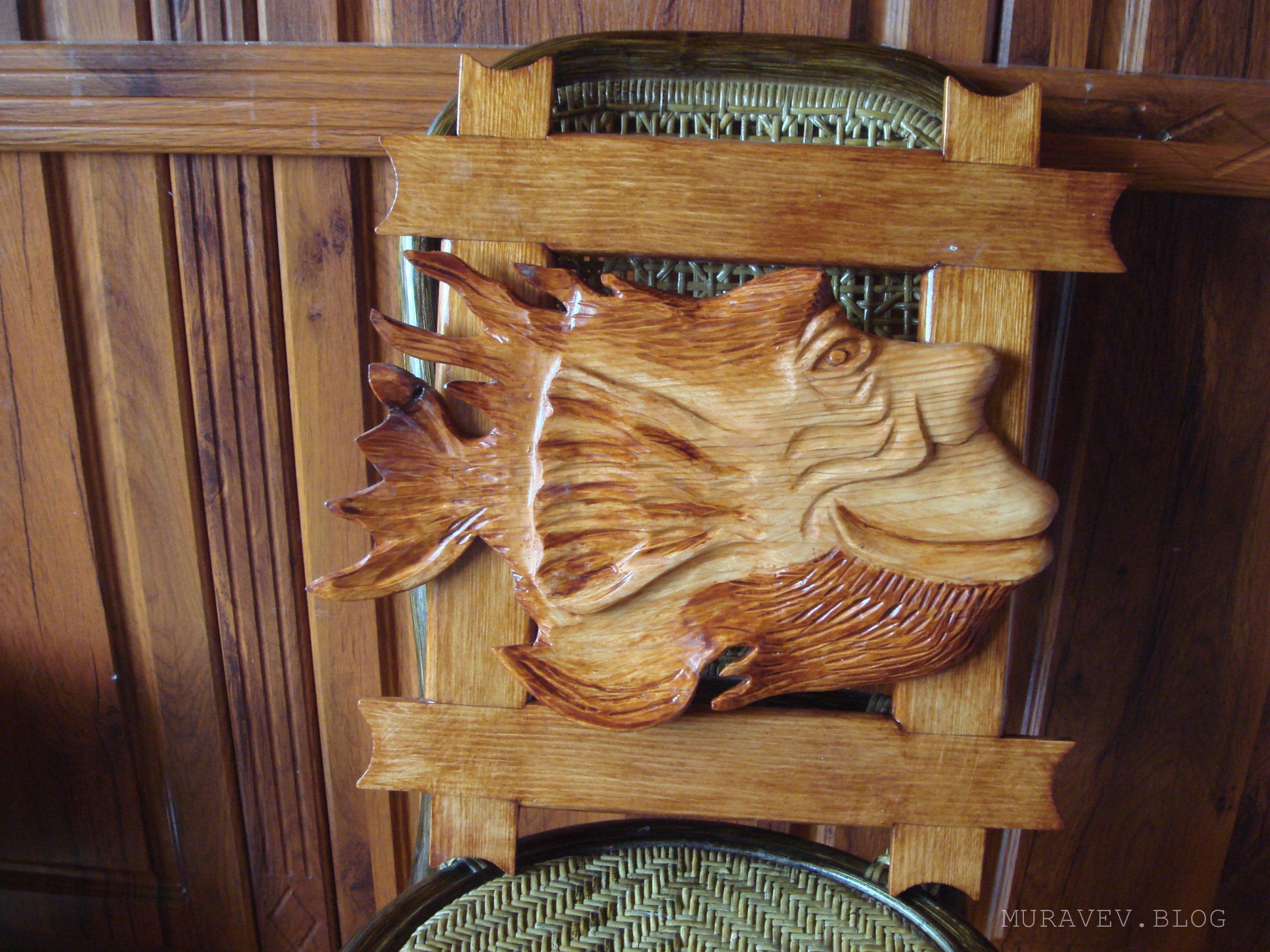 Деревянная рыба в форме человека из дерева своими руками