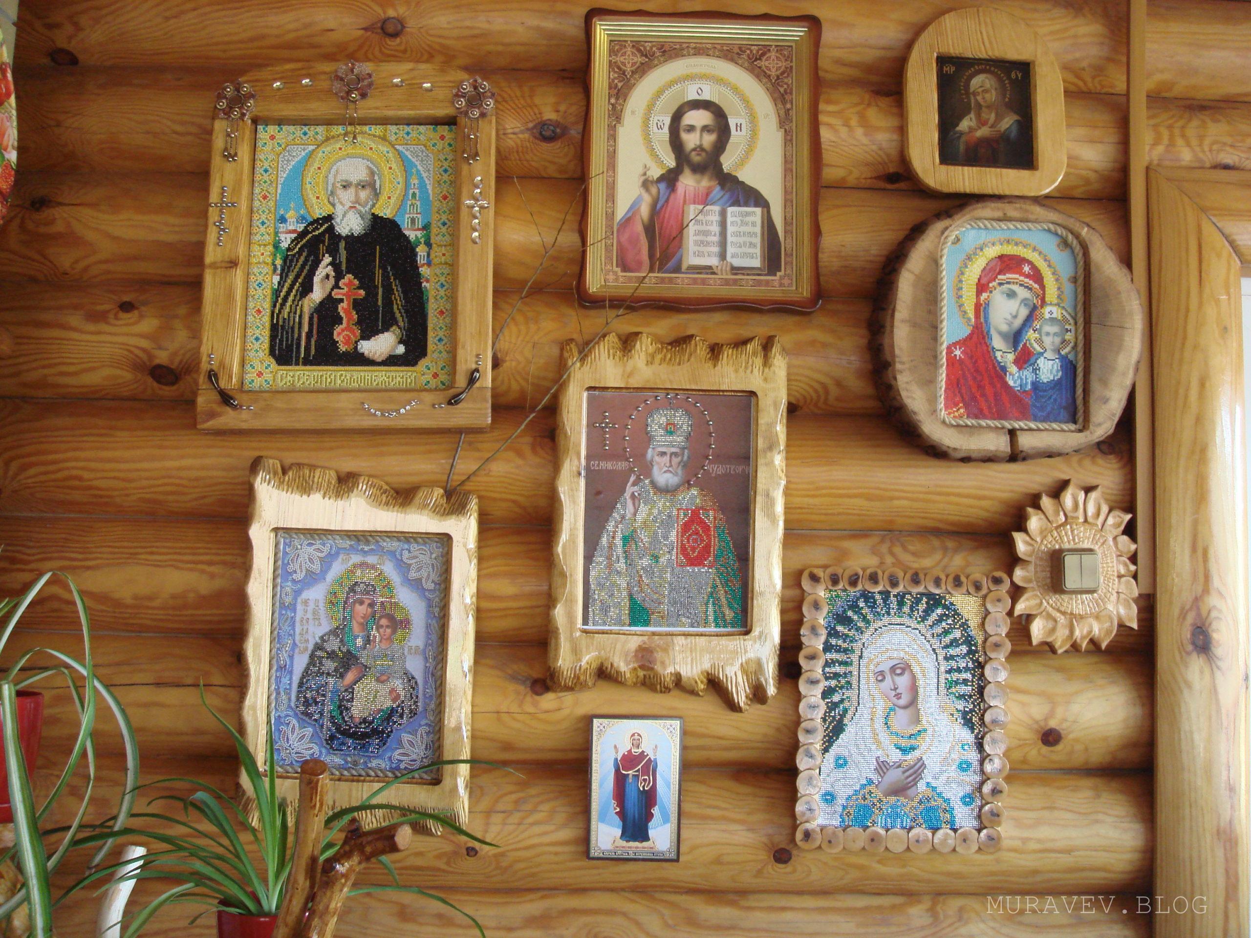 рамка для иконы своими руками из дерева