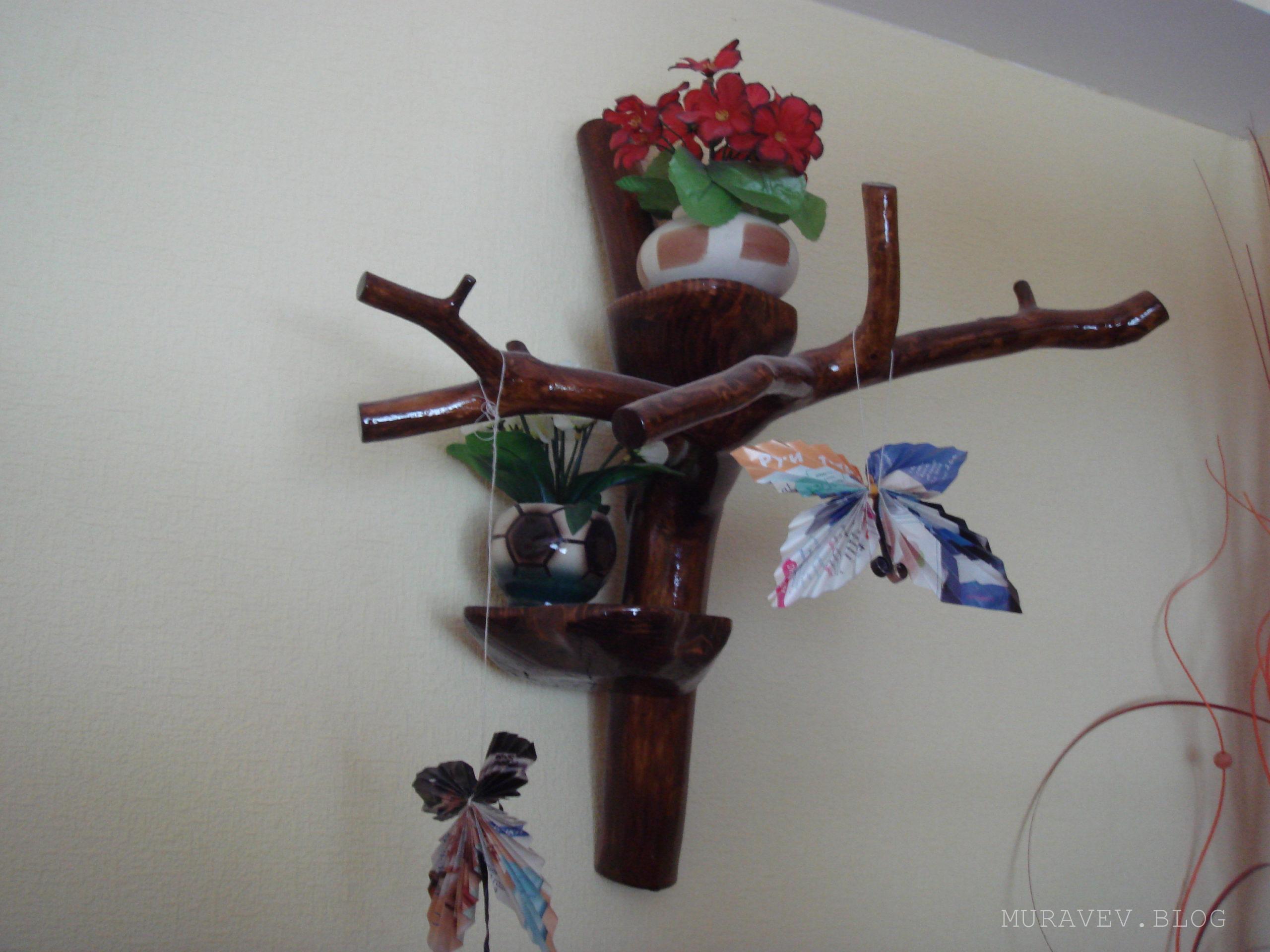вешалки своими руками из дерева размеры