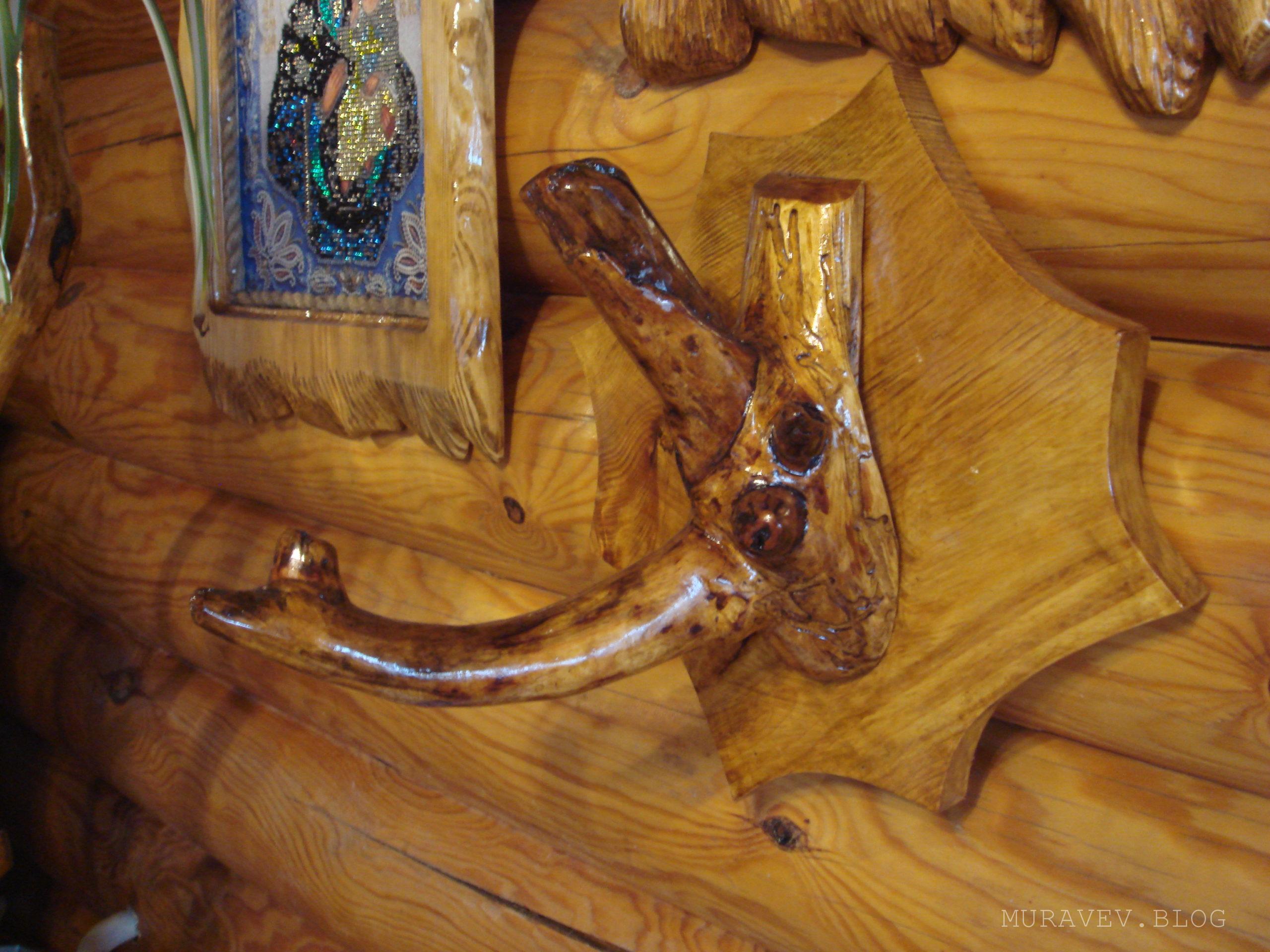 вешалка для полотенец своими руками из дерева